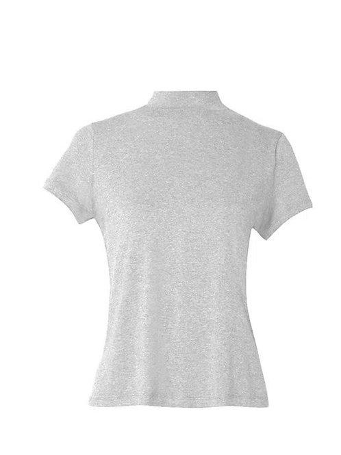 Blusa meia manga Vic mescla Charth