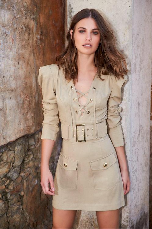 Vestido detalhe ilhós - Anne Fernandes
