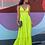 Thumbnail: Vestido longo alças e decote Skazi