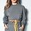 Thumbnail: Conjunto blusa e calça moletom mescla Skazi