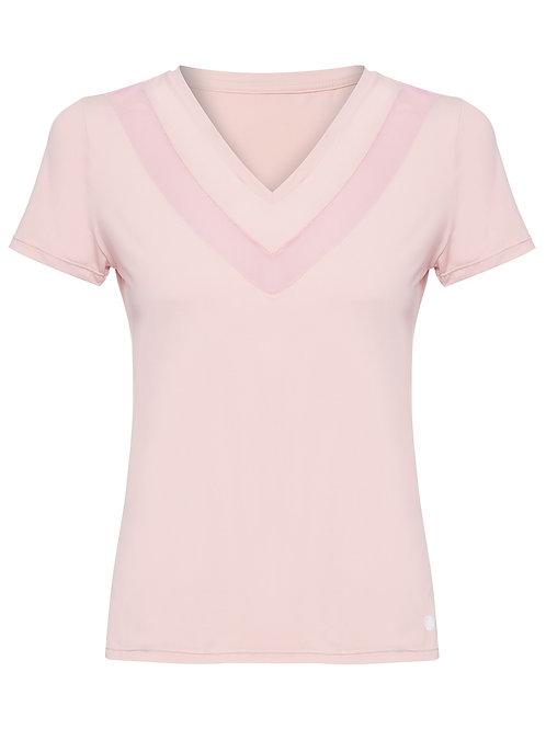 Camiseta classic rosa - Alekta por Ana Carolina Bassi