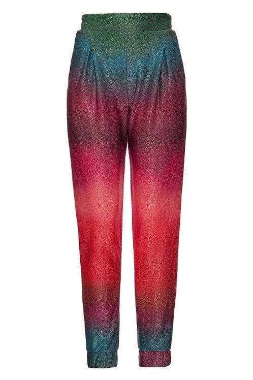 Calça jogger em lurex degradê PatBo multicolor