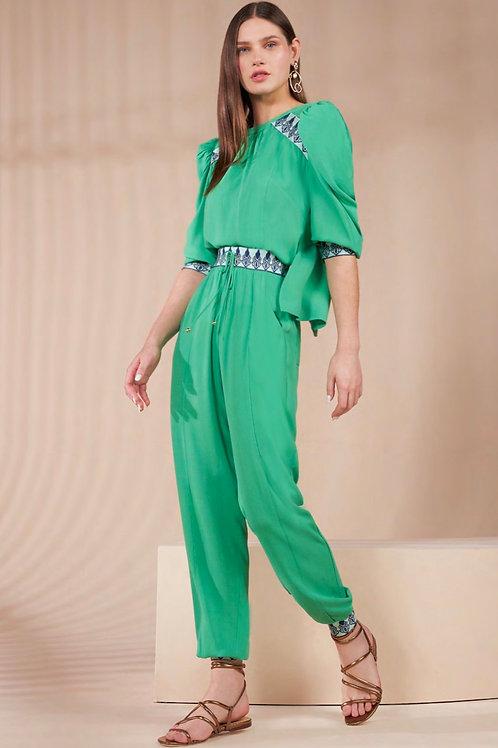 Conjunto blusa e calça detalhes Skazi Sclub