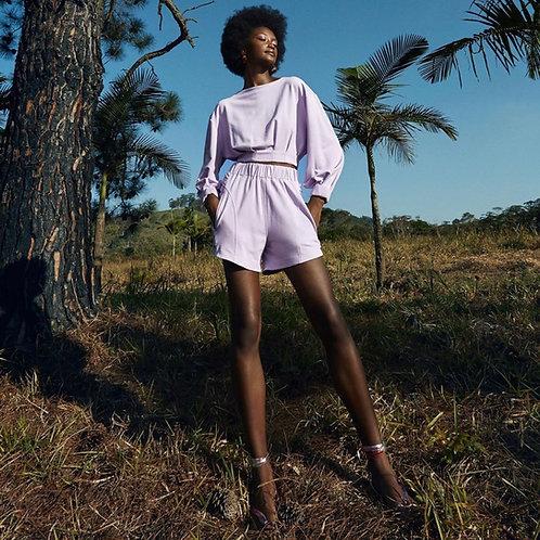 Shorts Ariane lavanda TIG