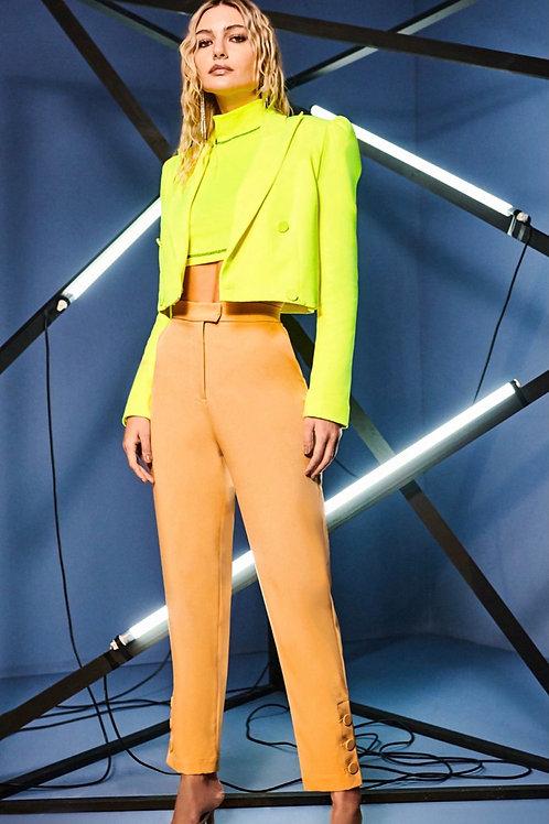 Blazer alfaiataria neon verde Skazi Sclub