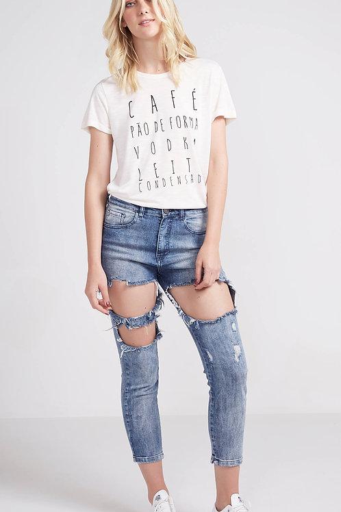 Calça Jeans Destroyed - Pop Up bazar