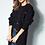 Thumbnail: Casaco tricot detalhe botões preto Skazi