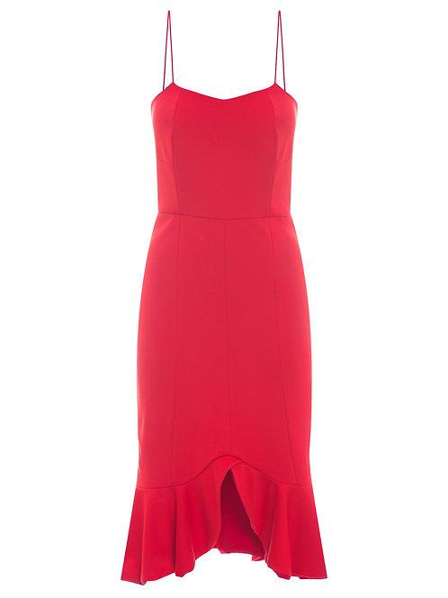Vestido kansas Carol Bassi vermelho