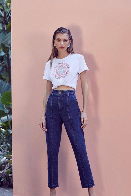 Calça pantalona jeans Skazi Sclub