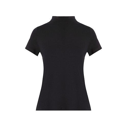 Blusa meia manga Vic preto Charth