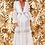 Thumbnail: Vestido/saída longo detalhes em renda Fabulous Agilita