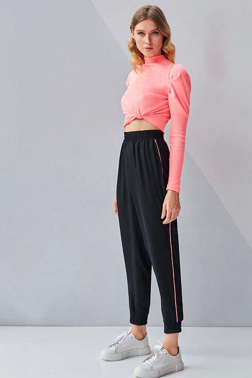 Conjunto rosa cake calça jogger e blusa tricot Skazi Sclub