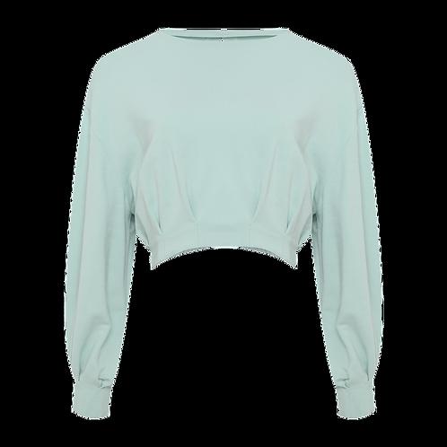 Blusa Ariane verde TIG