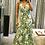Thumbnail: Vestido longo crepe Irina verde - Amíssima