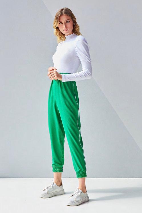 Conjunto verde calça jogger e blusa tricot Skazi Sclub