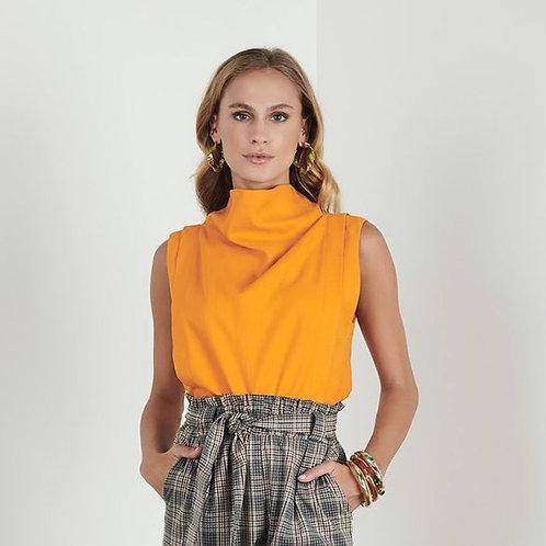 Blusa linho laranja - Iorane