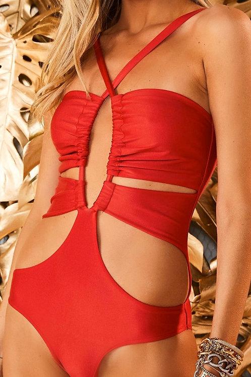 Body Itacare vermelho Fabulous Agilita