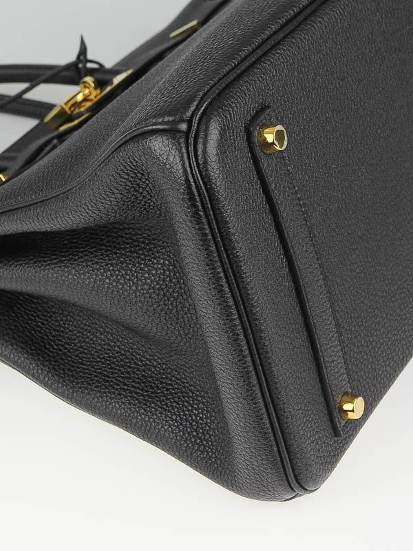 e7fdf24af3a43 Bolsa Hermès Birkin 35 original preta