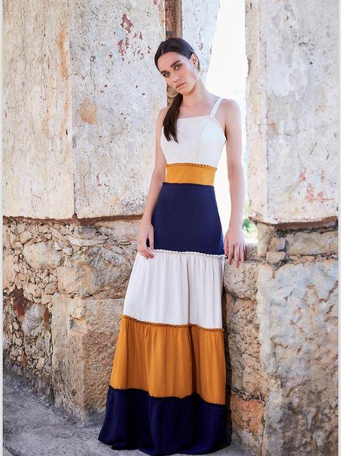 Vestido longo colors - Anne Fernandes