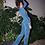 Thumbnail: Calça jogger textura azul - PatBo