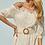 Thumbnail: Vestido lasie com cinto Skazi