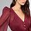 Thumbnail: Vestido longo três cores detalhes fio de lurex Skazi Sclub