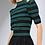 Thumbnail: Blusa em tricot com lurex preto verde e roxo Skazi Sclub