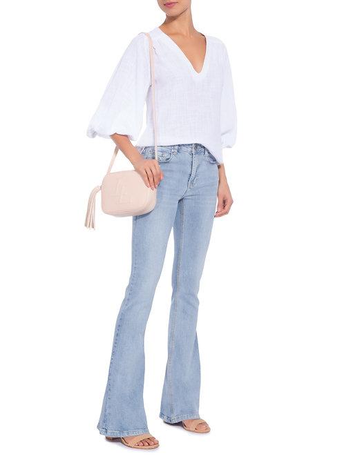 Calça flare Animale jeans claro Basic Clear