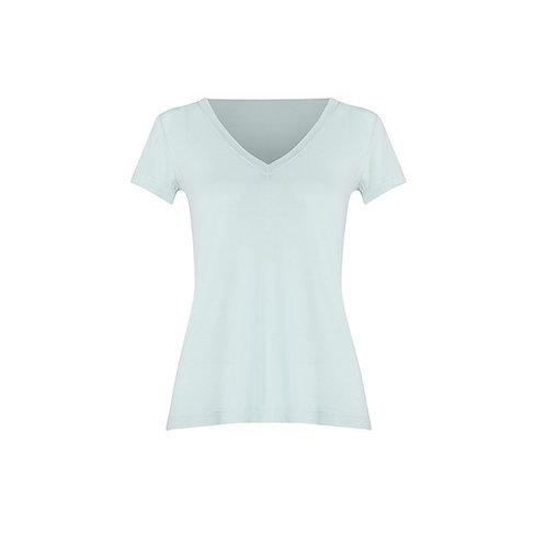 T shirt meia manga Classic Gola V verde agua Charth