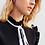 Thumbnail: Camisa detalhe laço plissada preta Sclub Skazi
