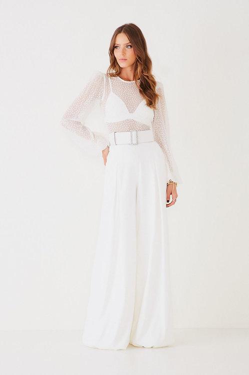 Calça Beatriz branco Fabulous Agilita