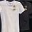 Thumbnail: T shirt de estrela e olho grego bordado preto Skazi