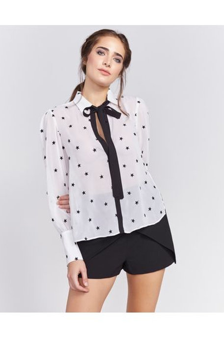 Camisa Estrelas P&B Pop Up Store