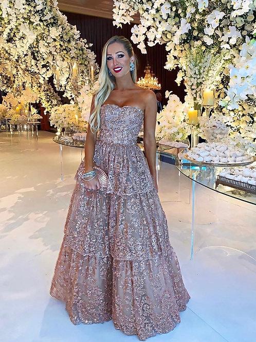 Vestido longo Janaína Fabulous Agilità