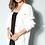 Thumbnail: Casaco detalhe botões tricot off white Skazi Silvia Braz