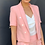 Thumbnail: Conjunto blazer e shorts rosa Skazi