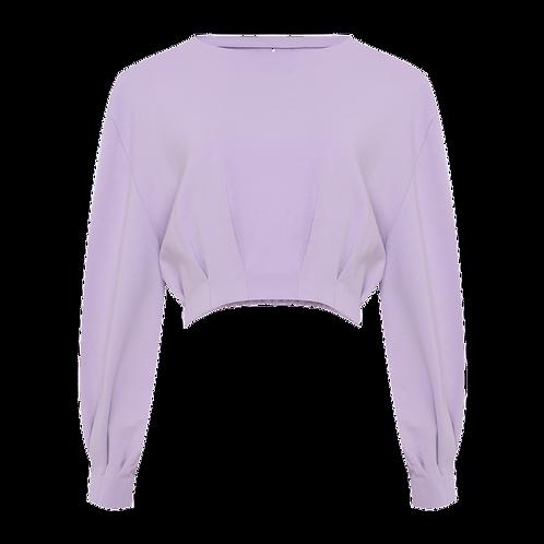 Blusa Ariane rosa lavanda TIG