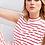 Thumbnail: Conjunto regata e blusa listras vermelho Sclub Skazi