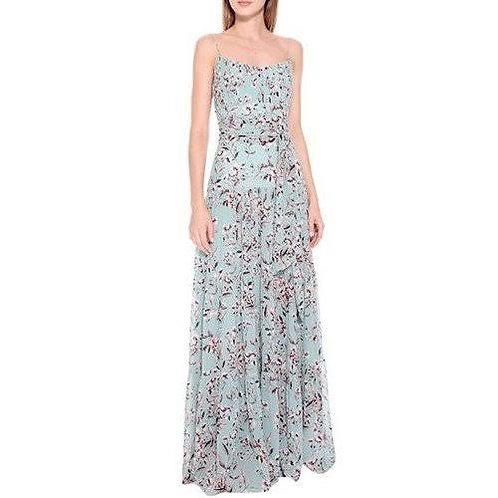 Vestido longo crepe Aliana - Amíssima
