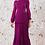 Thumbnail: Vestido longo plissado Fabulous Agilita