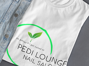 Pedi Lounge Nail Salon Gear, clothing, b