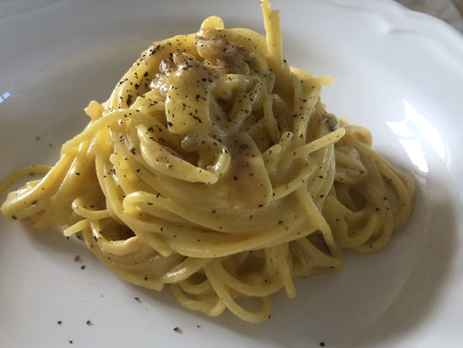 italia under lockdown: spaghetti alla carbonara