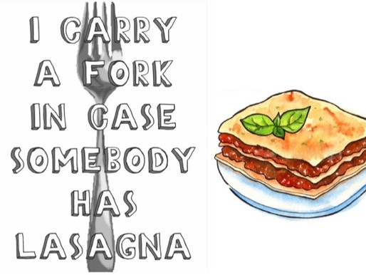 the lovely lasagne lullaby
