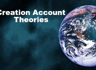 Creation Account Theories