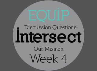 Intersect Week 4 - Discussion Questions