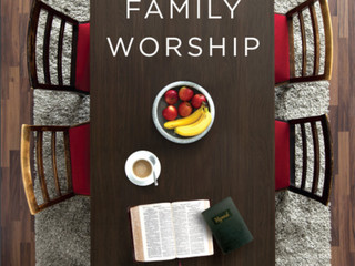 """Family Worship"" Book Review"