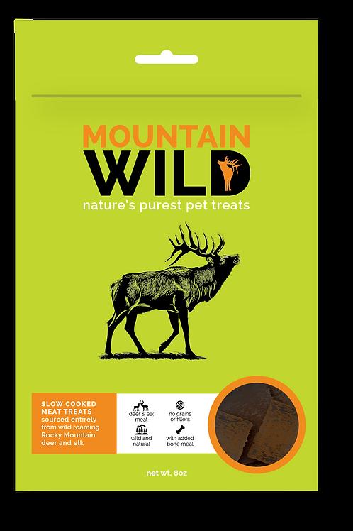 Mountain Wild Pet Treats 8oz bag