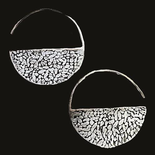 Barley Half Moon Earrings