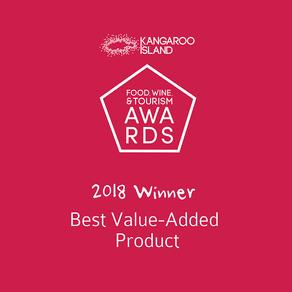 KI Food, Wine & Tourism Awards 2018 Winner!