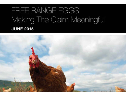 Choice Reports on Free Range Egg Practices